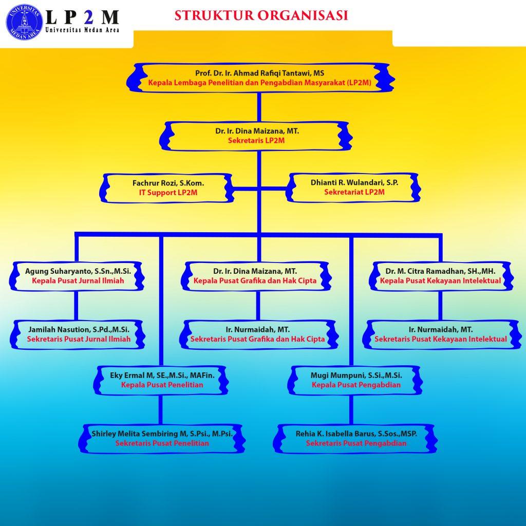 struktur baru lp2m